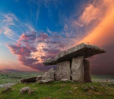 Dolmen Sunset, Poulnabrone, Ireland