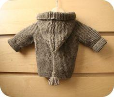 Manteau de Lino bébé T 9/12 mois- tricot gratuit - Modèles de tricot chez Makerist