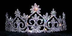 #13600 Royal Court Tiara   Rhinestone Jewelry Corporation