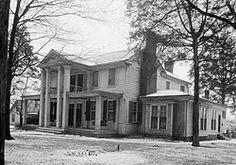 Gov. George Smith Houston's house built 1835 in Athens, Alabama