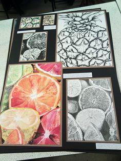 GCSE Art Board 2 by ElleMcC.deviantart.com on @DeviantArt