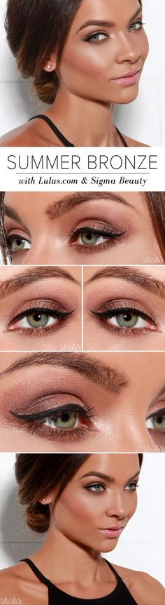 A pencil is a better option than a liquid liner because it lets you make short, feathery strokes and get very close to the lashes. Instead of pulling at the outer corners of the eyes, which can result in a wobbly line, look in the mirror with your chin up and your eyes down.