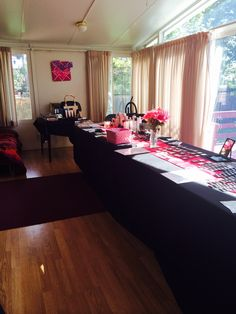 Mary Kay Open House Party Set up!