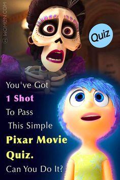 You've Got One Shot To Pass This Pixar Movie Screenshots Quiz.