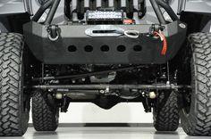 2014 Jeep Wrangler Unlimited in Bentley Matte Satin Grey Kevlar Exterior: Lift Kit