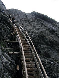 upper glacier stairway grindelwald