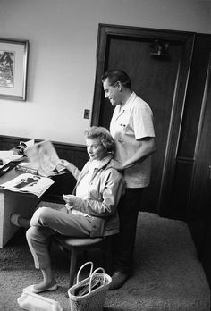 """Lucille was the first woman to be head of a television production company.   21 Wonderful Behind-The-Scenes Photos Of """"I Love Lucy"""""""