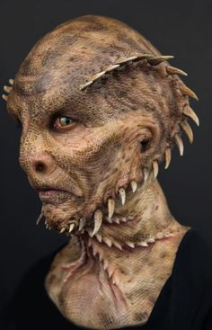 """the ''oh really face alien"""" Makeup Fx, Movie Makeup, Scary Makeup, Alien Character, Character Makeup, Special Makeup, Special Effects Makeup, Aliens, Alien Creatures"""