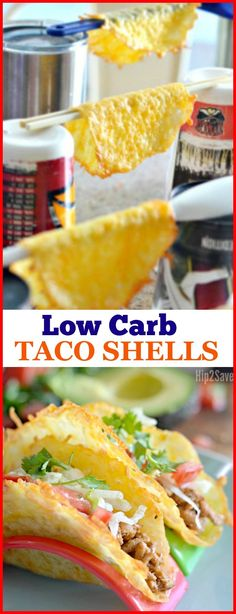 These Low-Carb Taco Shells Are Made from Cheese!