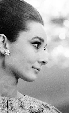 Rare Audrey Hepburn — Audrey Hepburn photographed in her suite at The...