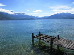 Annecy, Annecy, France - Lake Annecy, France. One of my favourite places. #annecy #france #travelpics