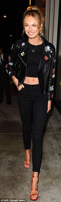 Victoria's Secret's Romee Strijd and Jasmine Tookes ooze casual chic
