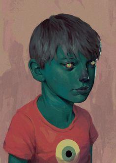 Fantasia e surrealismo nas ilustrações de Alan Linnstaedt
