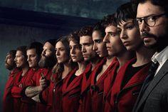 temporada de La Casa de Papel é apresentada antes de estreia na Netflix Movies Showing, Movies And Tv Shows, Series Movies, Tv Series, Shows On Netflix, Best Series, Film Serie, Movies Online, Movie Tv