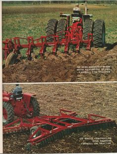 IH 700 Semi-Mounted Plow & 470 Wing-Disk Ad