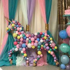 Quinceanera Party Planning – 5 Secrets For Having The Best Mexican Birthday Party Unicorn Birthday Parties, Birthday Balloons, Unicorn Party, Girl Birthday, Party Decoration, Balloon Decorations, Unicorn Decorations Party, Balloon Backdrop, Mylar Balloons