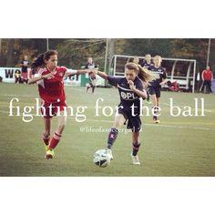 life of a soccer girl... what I do :)