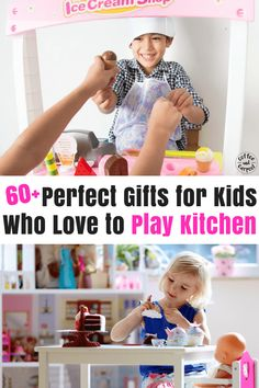 Have a kid who loves to play pretend? Then you need these 60  perfect gifts for kids who love to pretend cook #gifts #giftsforkids #dramaticplaygifts #playislearning #playiswork #positiveparenting #parenting101 #holidaygifts #christmasgifts #giftlists #giftideasforkids #creativegiftsforkids #coffeeandcarpool