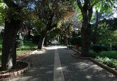 """uno dei punti verdi della città di Potenza, il parco """"Villa di Santa Maria"""". E' delizioso!"""