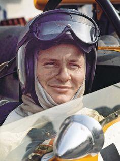Bruce McLaren, New Zealand motor racing legend.                                                                                                                                                                                 More