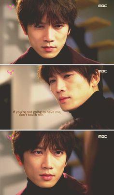 Se gi was soo hurt in this episode.I actually felt bad for him :( Mbc Drama, Drama Fever, The Iron King, Kdrama, Lee Bo Young, Drama Tv Series, Nostalgia, Gackt, Asian Love
