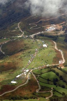 The Angliru. Penultimate stage in 2013 Vuelta? They've come over all Giro again