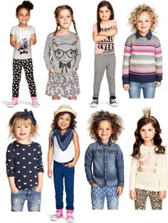 H & M USA fall 2014 Girls