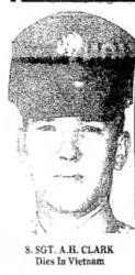 Steve Wightman ‏@stevewightman1 8m8 minutes ago California, USA  Honoring #USAF SSgt Allen Howell Clark, died 7/29/1971 in South Vietnam. Honor him so he is not forgotten.