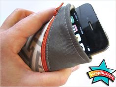 ScrapBusters: Belt Pouch Holds Phone & More Editor: Liz Johnson Tuesday, 30 April 2013 1:00  There are so many times you need two hands ...