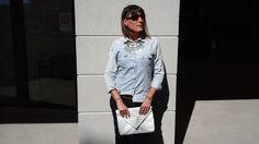style casual avec chemise en denim  @lifestylebyceline