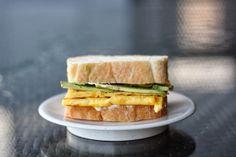 { Little Accidents in the Kitchen }: Breakfast Sunday XLIV & avocado omelette sandwich