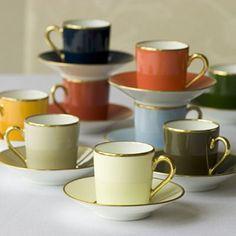 Legle de Limoges formal drinkware