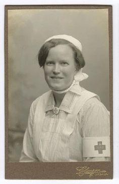 Nurse, UAS, Uppsala, Sweden. Around 1910? Vintage Nurse, Uppsala, Sweden, Nurse Uniforms, Medical, Education, History, Nurses, Health