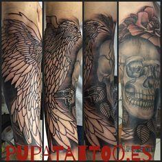 https://flic.kr/p/Cbo2bZ | Tatuaje Cuervo En progreso Pupa Tattoo Granada | Pupa Tattoo Art Gallery    C/Molinos, 15    18009 Granada    Spain    Telf.: 958 22 12 80    instagram.com/pupa_tattoo    twitter.com/PupaTattoo    www.pupatattoo.es