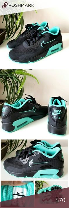 Like New!! Nike Air Max Worn once. Only sign of wear is on the outsole. Tag is 7y but fits 8.5 women. Nike Shoes Sneakers