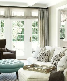 Window Treatments For Difficult Windows + What You Must Never Do