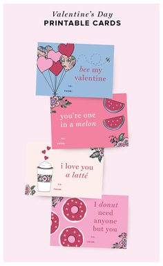 3cad2e54a4eb7 Get a head start on Valentine's Day this year by printing our adorable  Valentine's Day cards