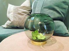 Forest green Globe vase #aytm •  #eight #Holte #Aytm #wintershopping #NEWIN Photo: eight_holte