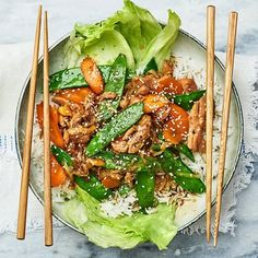 Strimlad kyckling teriyaki | Recept ICA.se Asian Recipes, Healthy Recipes, Ethnic Recipes, Grilling Gifts, Grilled Meat, I Foods, Food Videos, Food Inspiration, Dinner Recipes