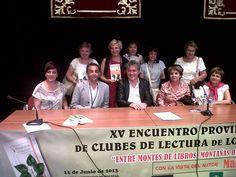 2013 - Enuentro de Clubes de Lectura con Manuel Rivas - Los Yébenes