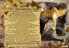 angel blessings: MEET YOUR GUARDIAN ANGEL ...
