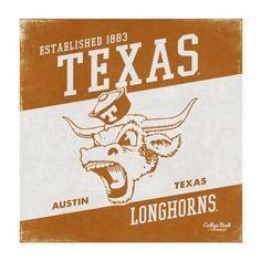 University of Texas Vintage Canvas