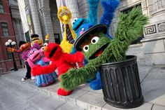 Look at these cute sesame street mascot! Find out more on where you can get to meet them in person! http://www.singaporecitytour.com.sg