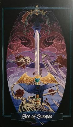 Card of the Day – Ace of Swords – Wednesday, April 14, 2021 – Tarot by Cecelia Magick, Witchcraft, Mercury In Aries, Tarot By Cecelia, Ace Of Swords, Watercolor Art Lessons, Online Tarot, Tarot Meanings, Oracle Cards