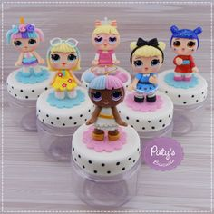 1 million+ Stunning Free Images to Use Anywhere Birthday Candy, Birthday Treats, Polymer Clay Projects, Polymer Clay Charms, Free To Use Images, Doll Party, Fondant Figures, Lol Dolls, Cold Porcelain