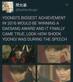 Im so proud of my boys<<I remember seeing him cried really hard and I cried with him like I'm so proud too