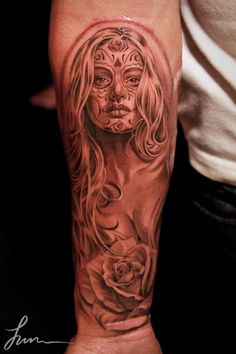 Tattoo by Jun Cha  absolutely beautiful