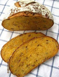 Brot & Meer: KÜRBIS-MOLKE-BROT (NACH DAN LEPARD)