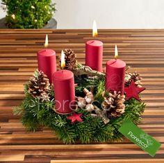 Adventní věnce na vánoční stůl 2012   Floresco