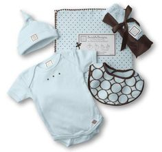 If I had a baby boy, I'd want this.  Much cheaper on swaddldesigns.com  SwaddleDesigns Newborn Gift Set 2 - Pastel Blue Assortment by SwaddleDesigns, http://www.amazon.com/dp/B004U5Y2ZK/ref=cm_sw_r_pi_dp_Z763qb1DK9HX6